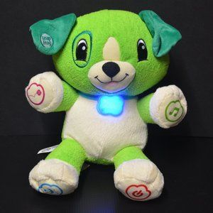Leap Frog My Pal Scout Green Dog Plush Interactive